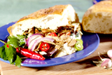 Kebab seitansuikaleet/ Kebab seitanbitar