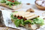 Red Pepper vegan cold cut
